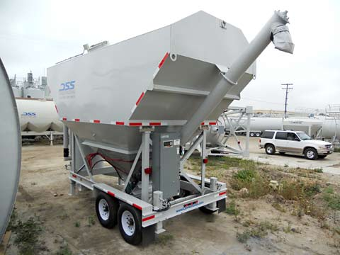 Portable Low-Profile Silos - 200 Lo-Pro
