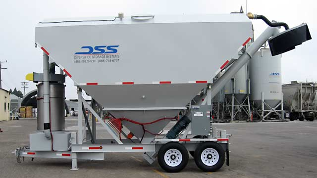 Portable Low-Profile Silos - 200 Lo-Pro with Loadout Shroud