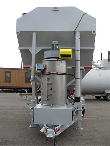 Portable Low-Profile Silos - 200 Lo-Pro with Pulse Jet DC