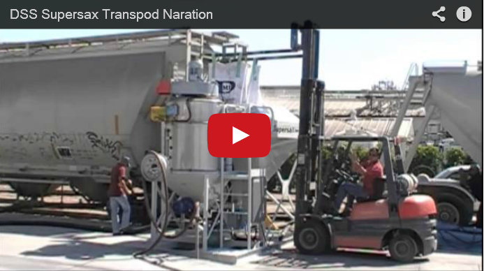 SuperSax TransPod Loading System - Cement - Bulk Transfer
