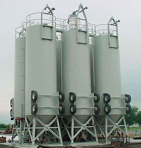 Blending 6-Pack of Silos