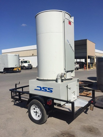 Air-Max Trailer Mounted Dust Collector