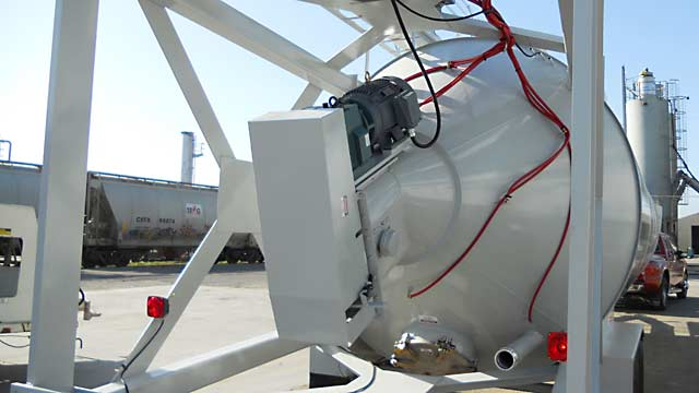 Portable - Positive Feed Silo - 1400c.f. Silo Bottom