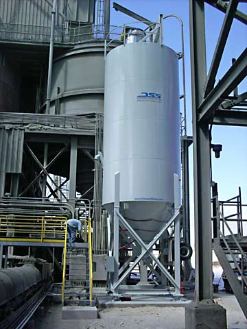 Portable - Positive Feed Silo - 2800c.f.