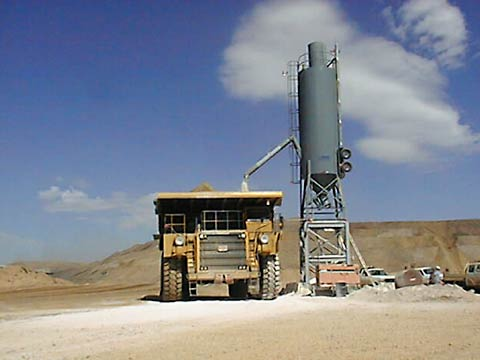 Run-of-Mine 50 Ton Silo