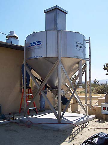 270 cf Stainless Steel Silos